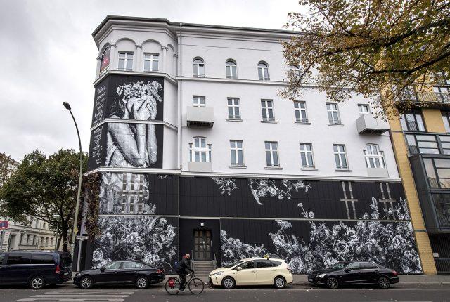 Snik Hera URBAN NATION Facade