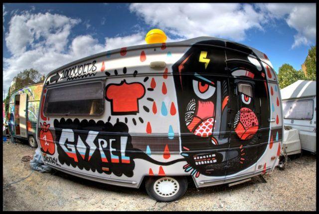 Sickboy Caravan trailer Gospel