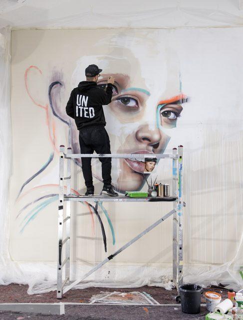 Sebastian Wandl artist in residence of Fresh A.I.R.