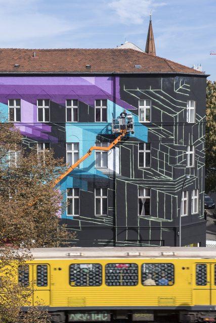 Mr.June ONE WALL Mural