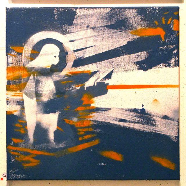 Steff Plaetz painting URBAN NATION