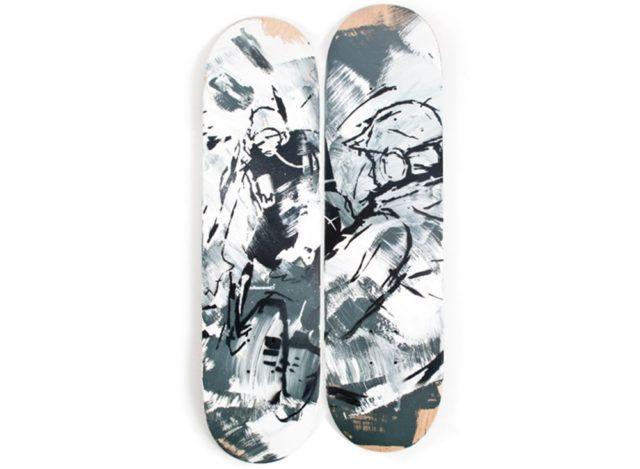 Steff Plaetz Skateboards decks sketch