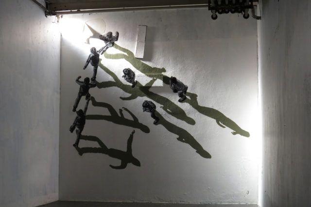Anders Gjennestad Strøk stencil art