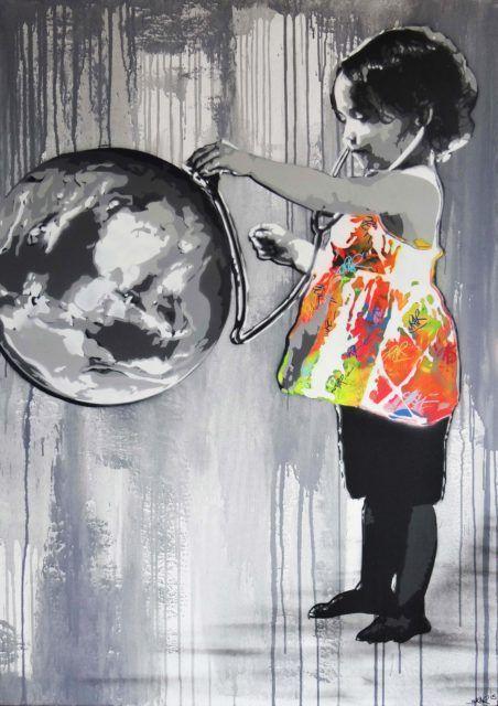 Kurar Save my world Canvas