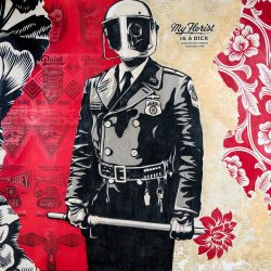 Shepard Fairey URBAN NATION Berlin