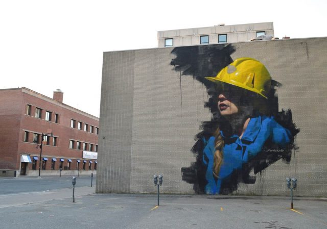 Young Jarus Mural Sudbury