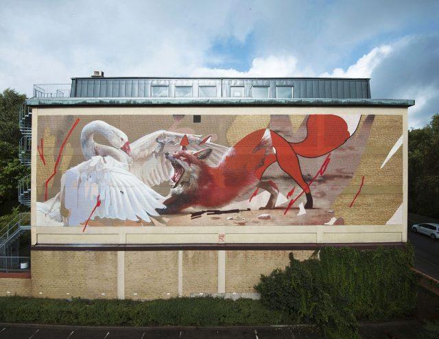 Telmo Miel Nils Holgersson Mural