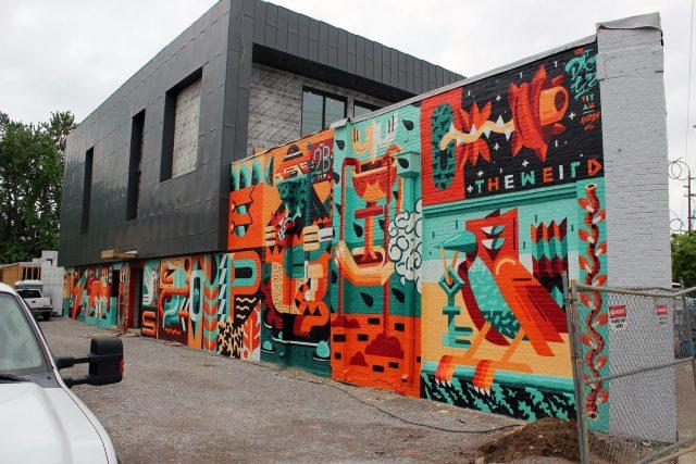 The Weird Mural URBAN NATION MUSEUM