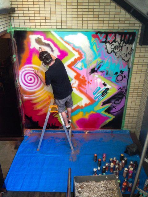 Nick Walker Tokyo Painting Studio
