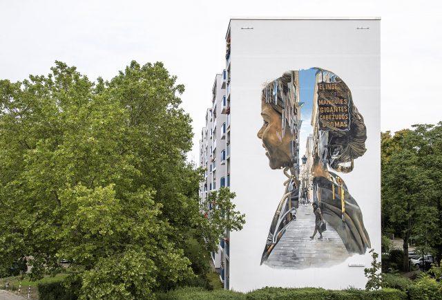 ONE WALL by Christian Blanxer for URBAN NATION MUSEUM FOR URBAN CONTEMPORARY ART. Urban Art. Mural. Street Art. Berlin. Art.