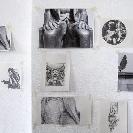 Artist Alexis Fidetzis