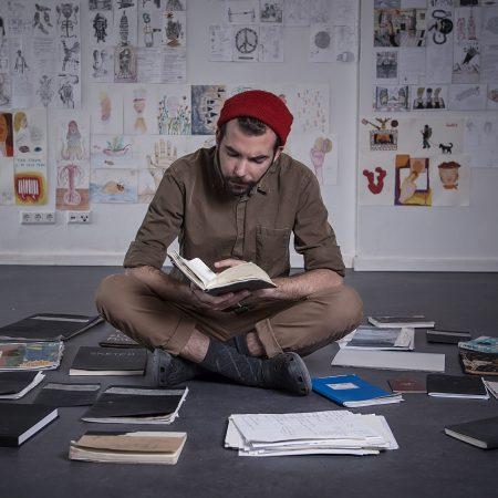 Alexandros Simopoulos artist in residence Berlin