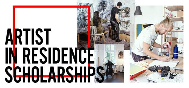 Artist in Residence scholarships