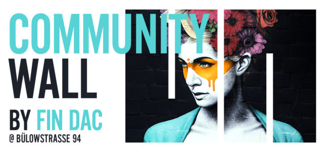 Fin Dac Community walls mural