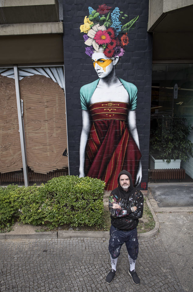 URBAN NATION Berlin. Community Wall by Fin DAC. Urban Art. Street Art. Urban Contemporary Art.