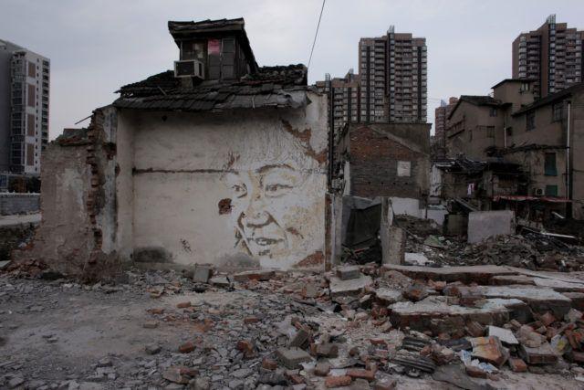 VHILS Alexandre Farto Shanghai