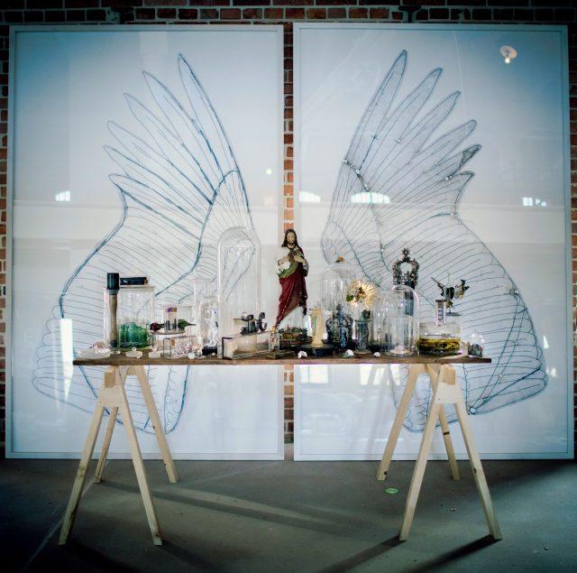 Mia Florentine Weiss Installation