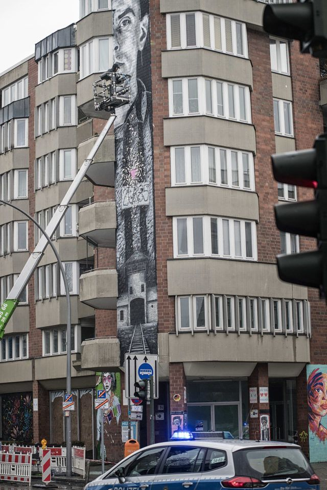 Nils Westergard Mural Berlin