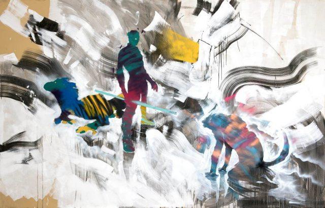 Will Barras Birmingham Berlin painting