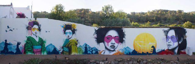 Fin DAC Wunagai Ibiza Mural