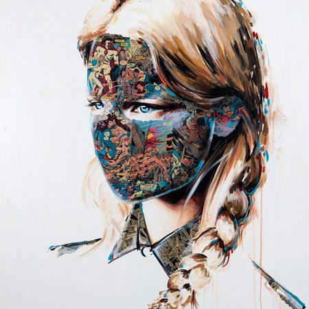 Artist Sandra Chevrier