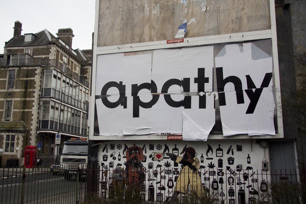 Mobstr apathy Typography URBAN NATION