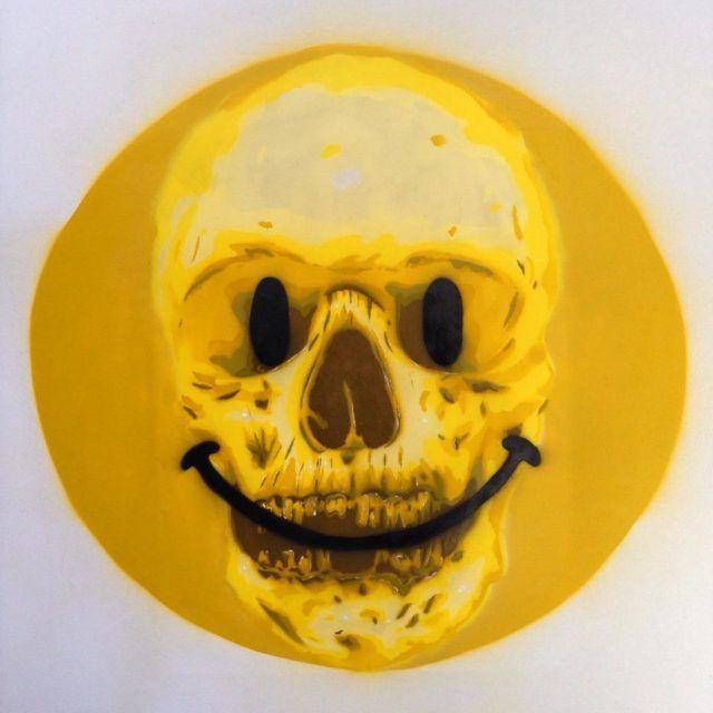 Bàlu Smile Smiley Stencil