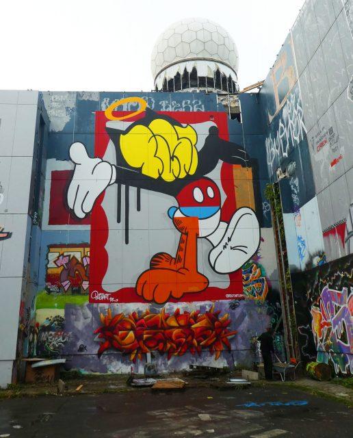 BustArt Berlin Teufel Mural