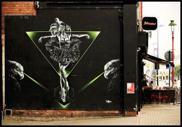 Tankpetrol Birmingham Mural Painting