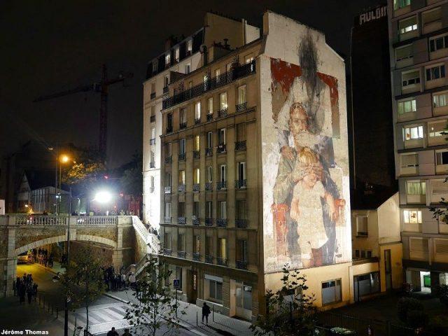 Gonzalo Borondo Les Trois Ages Paris