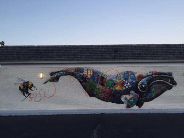 Louis Masai mural Boston