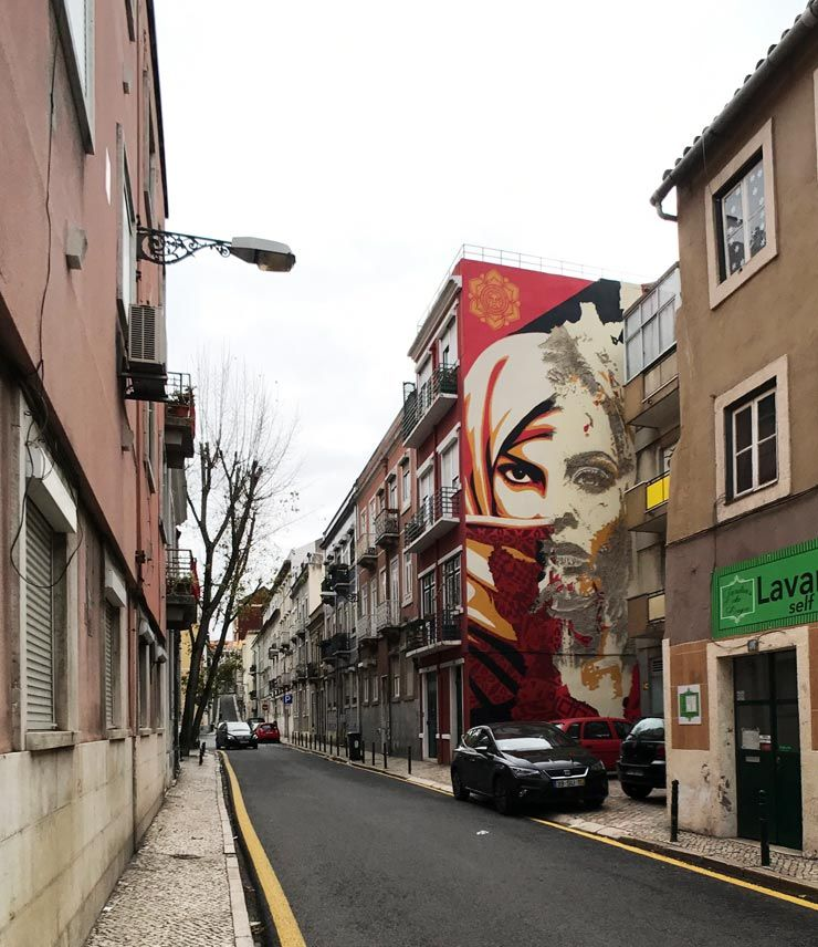 Nouveau The Many Faces of Lisbon on the Street – Urban Nation NS-83