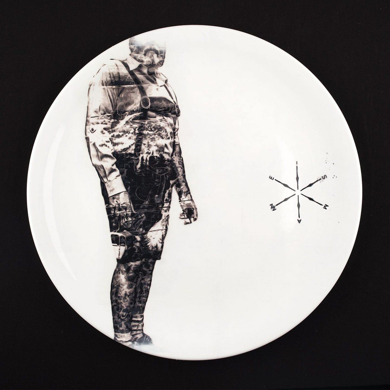 Eismann URBAN NATION Secret Dinner Plates