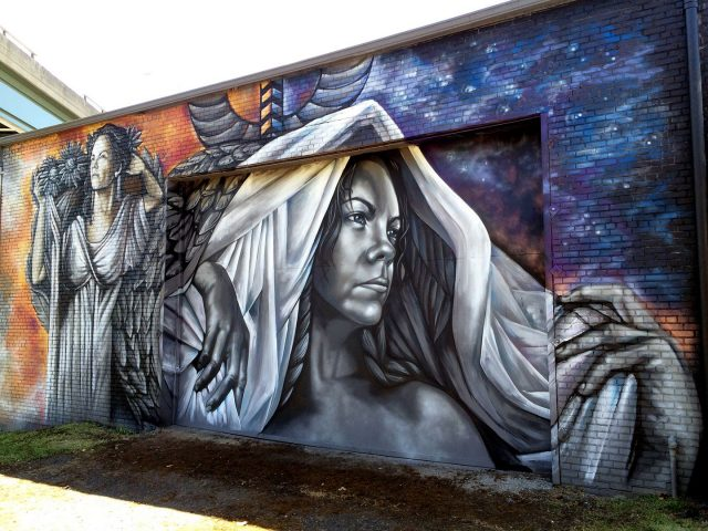 Sarah C. Rutherford From Day Tonight Mural