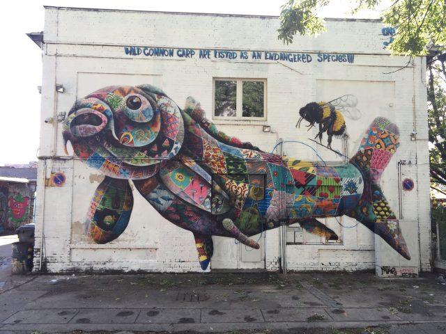 Louis Masai mural Berlin