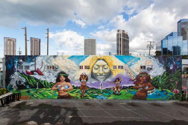 Mark Bodé Hawaii Mural