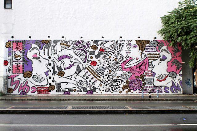 Aiko Mural URBAN NATION