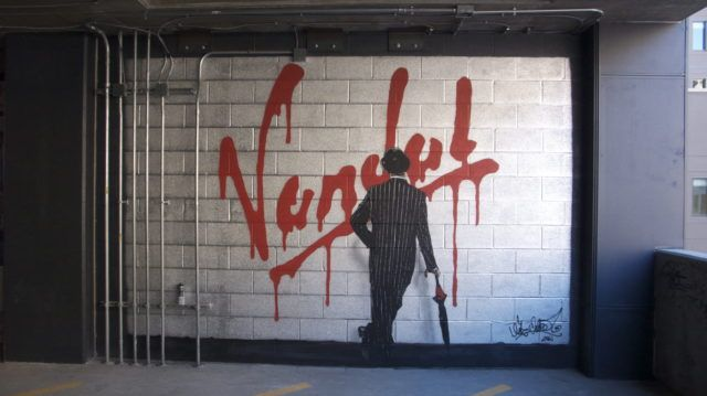 Nick Walker Indianapolis Vandal Stencil