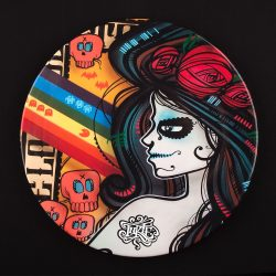 Inkie URBAN NATION Secret Dinner Plates
