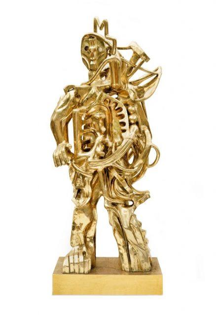 Zio Ziegler Sculpture URBAN NATION
