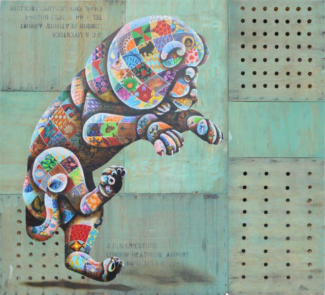Louis Masai Kunstwerk