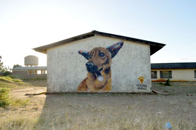 Louis Masai Mural Wandbild