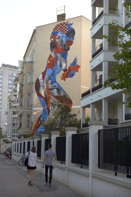 Tristan Eaton Mural Berlin UN Museum