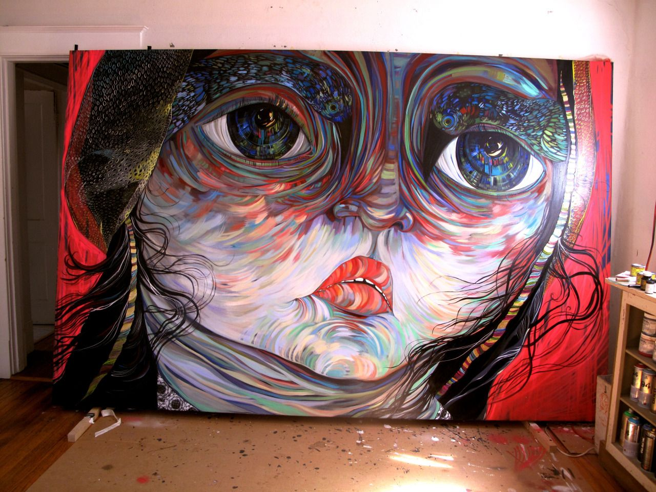 Faring Purth Paiting Canvas