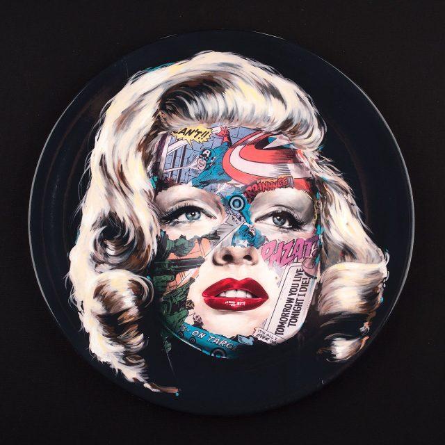 Sandra Chevrier URBAN NATION Secret Dinner Plates