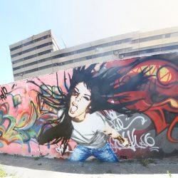 FRZ Scream Mural Iran