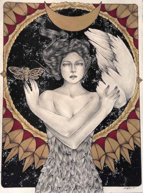 Shawnee Hill Sky Mermaid Painting