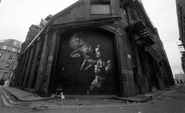 Tankpetrol Wall Poetry Stencil
