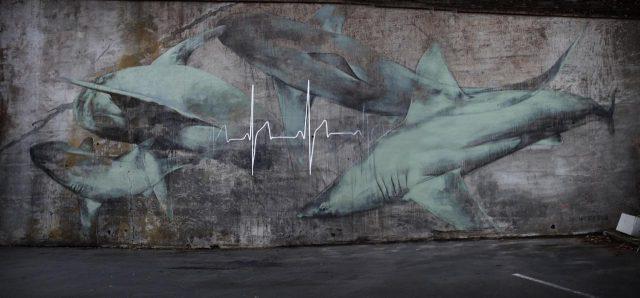 Faith XLVII Heartbeat Mural