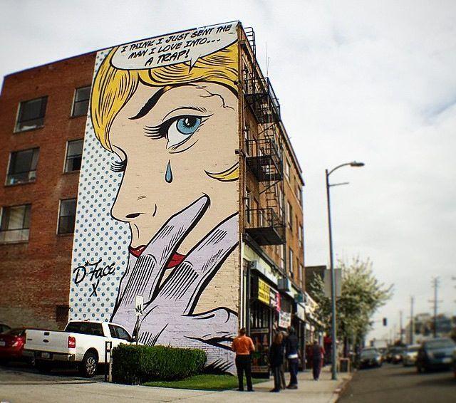 D*Face Dean Stockton Mural Corner